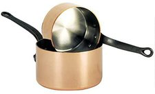 De Buyer Inocuivre First Classe Stielkasserolle aus Kupfer 24 cm mit Gußeisengriff
