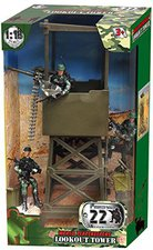 Peterkin World Peacekeepers Aussichts-Turm und Figuren