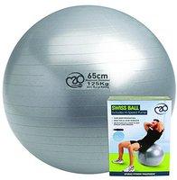 Fitness Mad 125Kg Anti-Burst Swiss Ball (65cm)