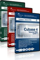 ASKVideo Cubase 4 Tutorial DVD Level 1-3 Bundle (EN)