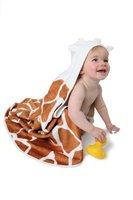 Cuddledry Cuddlesafari - Kapuzenbadetuch Giraffe