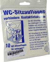 Dr. JUNGHANS Toilettenaufleger (10 Stk.)