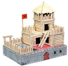 WALACHIA Holzbaukasten Vario Fort