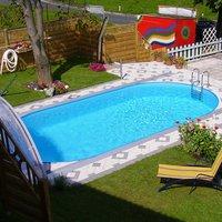 Pool Friends Poolset Styria oval 625x360x120cm