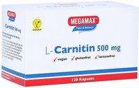 Megamax Megamax L Carnitin 500 mg Tabletten (120 Stk.)