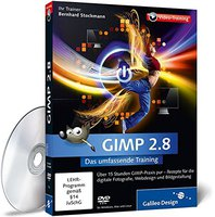 Galileo Press GIMP 2.8 - Das umfassende Training (Win/Mac/Linux) (DE)