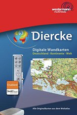 LÜK Diercke Digitale Wandkarten: Deutschland - Kontinente - Welt - Ausgabe 2008 (Win) (DE)