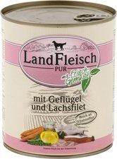 Dr. Alder's Landfleisch Pur Geflügel & Lachsfilet (800 g)