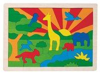 goki Einlegepuzzle Dschungel (57990)