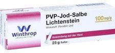 Winthrop Pvp Jod Salbe Lichtenstein (25 g)