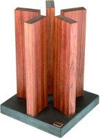 Kai Magnet-Messerblock Stonehenge Redwood unbestückt