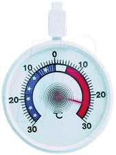 TFA Dostmann Gefrier-Thermometer Ø 6,8 cm