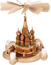 Müller Kleinkunst 1-stöckige Pyramide Basilika Kathedrale in Moskau (50 cm)