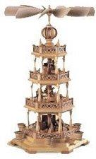 Müller Kleinkunst 3-stöckige Pyramide Heilige Geschichte (49 cm)