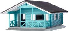 Busch Ferienhaus blau (1080)