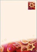 sigel DP447 Weihnachts-Motiv-Papier, A4, 90g/qm, Motiv: Apple Star