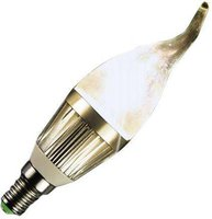 Technaxx LED Candle Light 2 Flame Base E14 3x1W 40W