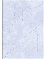 sigel DP649 Struktur-Papier, A4, 200 g/qm, Motiv: Granit blau