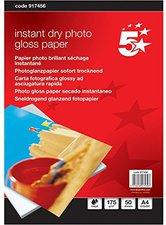 5-Star Premier Instant Dry, A4, 175g/qm, hochglanz (917456)