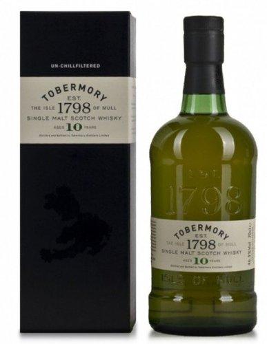 Tobermory Ledaig 10 Years 0,7l 43%