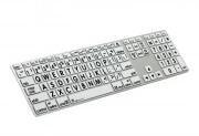 LogicKeyboard XL-Print Apple dt. Aluminium