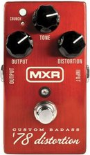 Jim Dunlop MXR M 78 Custom Badass Distortion