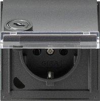 Gira Verschließbare SCHUKO-Steckdose (044967)