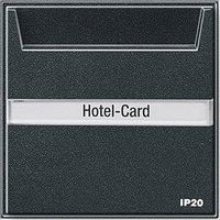 Gira Hotel-Card-Taster mit Beschriftungsfeld (014067)