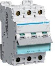Hager Leitungsschutzschalter 3polig D-10A 10kA 3M (NDN310)
