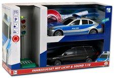 The Toy Company Einsatz-Fahrzeug-Set City