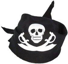 BestSaller Piratenkopftuch schwarz