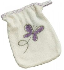 Be Be s Collection Waschhandschuh Butterfly