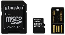Kingston microSDHC Card 32 GB Class 10 ADP
