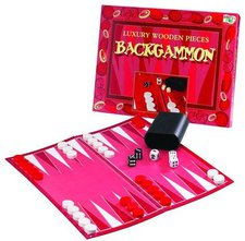 Toybrokers Luxury Wooden Pieces Backgammon (englisch)