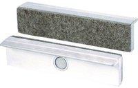 Brockhaus+Heuer Schutzbacken magnetisch mit Filzbelag 160mm (113160)