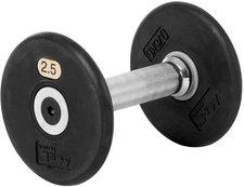 Sport-Tec Kurzhantel Gummi 2,5kg