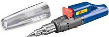 Wentronic Gaslötkolben für Feuerzeuggas mit elektrischer Piezo-Zündung (51095)