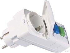 Bachmann PRCD Adapter Fehlerstromschutzstecker mit Klappdeckel