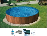 my pool Splash Woodstyle Pool-Set 360x90 cm (A 42750)