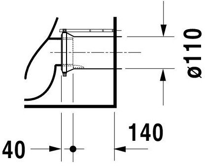 Duravit Darling New Stand-WC (213909)