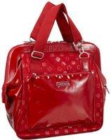 Allerhand Monogram Mono Messenger Bag Large - Red Royal