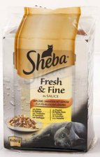 Sheba Deluxe mit Lachs (100 g)