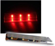 Highlight Led 4er SET LED Glasbodenbeleuchtung 66mm