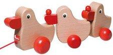 Walter (Nic Toys) Nachziehspielzeug Entenfamilie (63785)