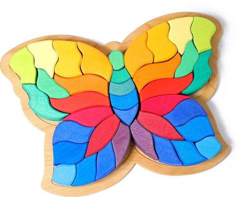 Grimms Schmetterling Puzzle groß (43681)
