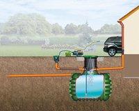 Garantia Regenwasser-Komplettpaket Garten-Jet CRISTALL 1.600 l