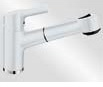 Blanco Blancoelipso-S II (Keramik-Look Weiß, Hochdruck)