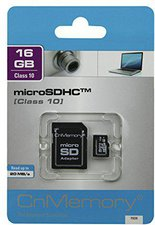 CnMemory microSDHC Card 16 GB Class 10 ADP