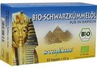 Dynamis Schwarzkümmel Ägypt. Pur Kapseln (60 Stk.)