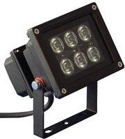 ProTech Lighting LED Outdoor Spot 6x1W weiss